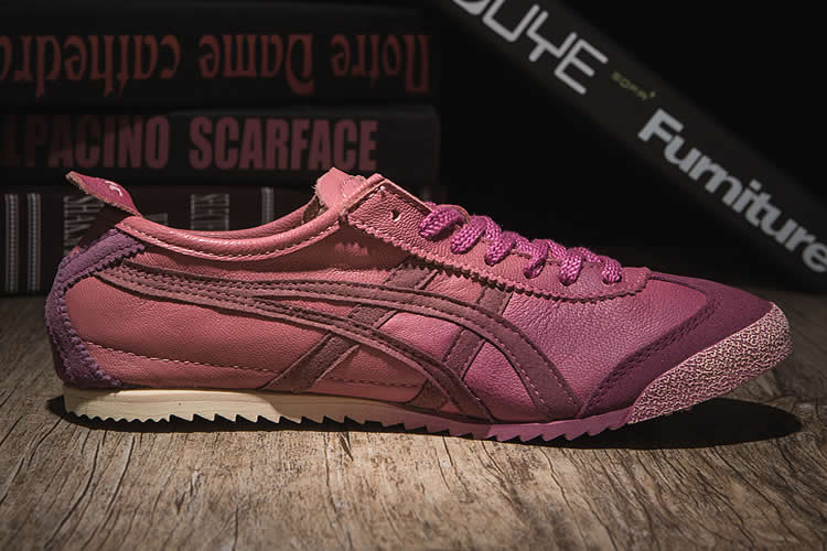 Onitsuka Tiger Mexico 66 Deluxe (Purple Red) Shoes