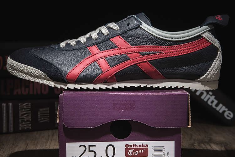 Onitsuka Tiger Mexico 66 DELUXE (Dark Blue/ Red) Shoes