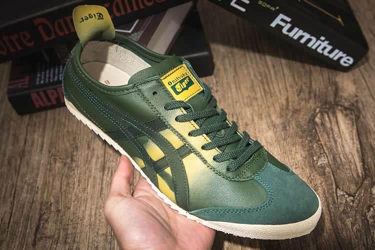 (Army Green) Onitsuka Tiger Mexico 66 Deluxe Shoes