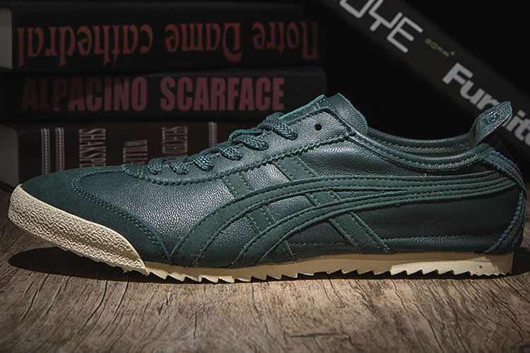 (Dark Green) Onitsuka Tiger Mexico 66 Deluxe Shoes