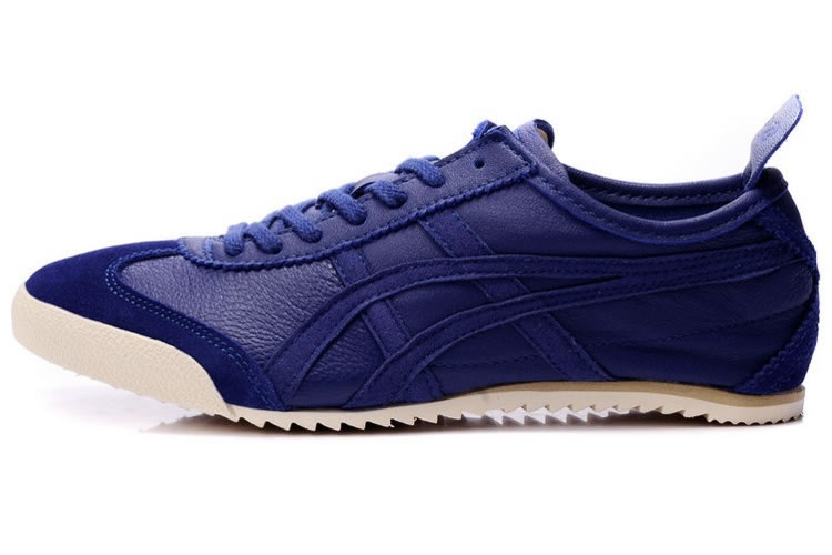 Purple Blue Onitsuka Tiger MEXICO 66 Deluxe Shoes