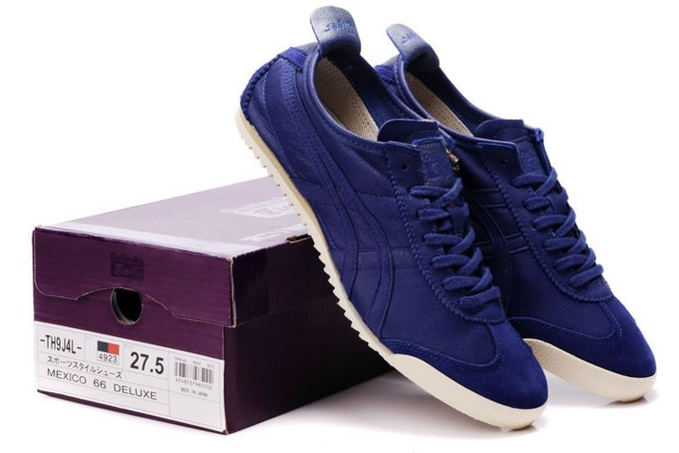Purple Blue Onitsuka Tiger Deluxe Nippon Made Shoes