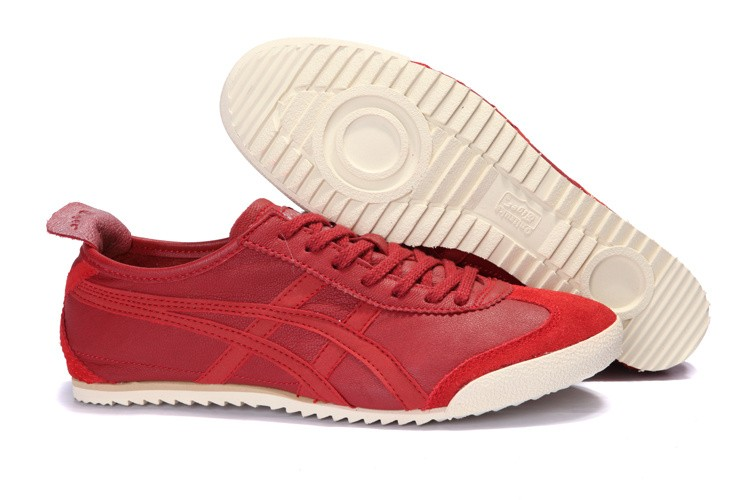 Onitsuka Tiger Deluxe Mexico 66 Red Shoes