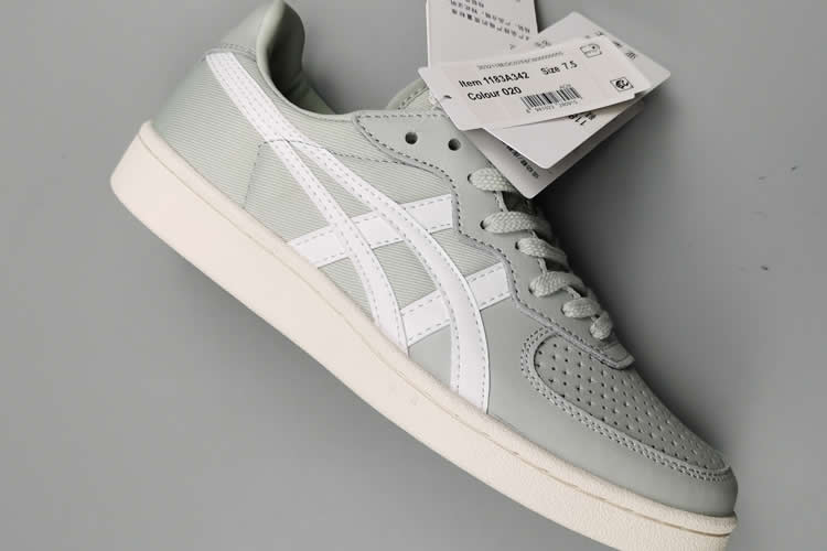 (Steel-gray/ White) Onitsuka Tiger GSM Shoes