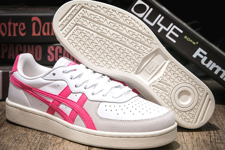 (White/ Pink) Onitsuka Tiger GSM Women Shoes