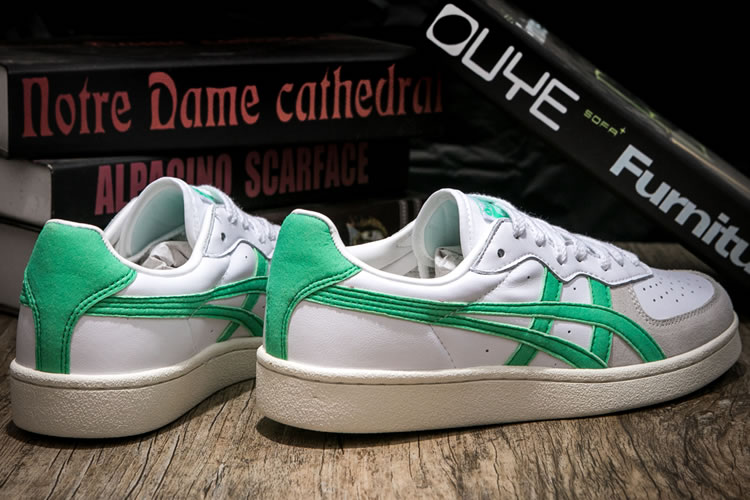 (White/ Green) Onitsuka Tiger GSM Shoes