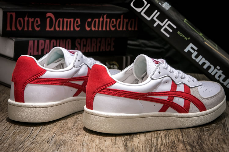 (White/ Red) Onitsuka Tiger GSM Shoes