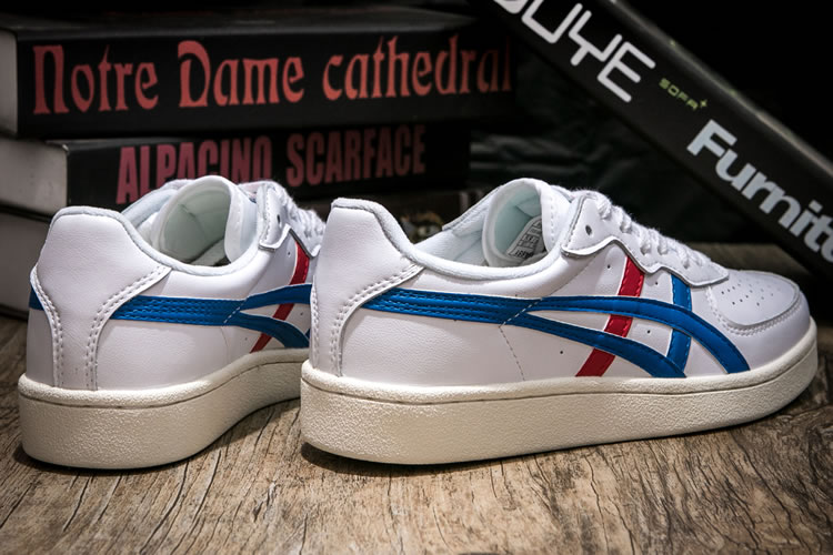 (White/ Blue/ Red) Onitsuka Tiger GSM Shoes