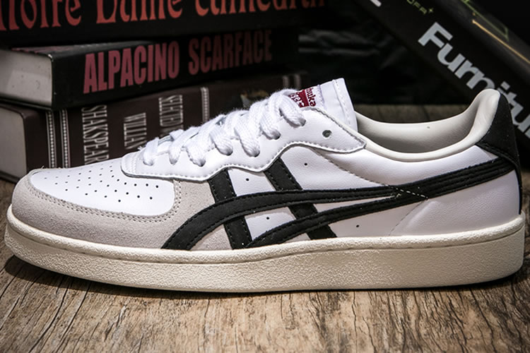 (White/ Black) Onitsuka Tiger GSM Shoes