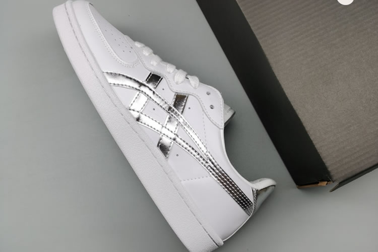 (White/ Silver) Onitsuka Tiger GSM Shoes