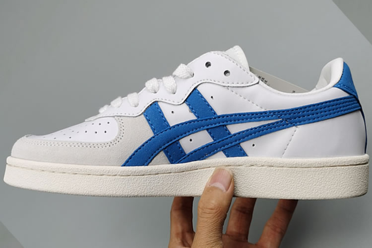 (White/ Skyblue) Onitsuka Tiger GSM Shoes