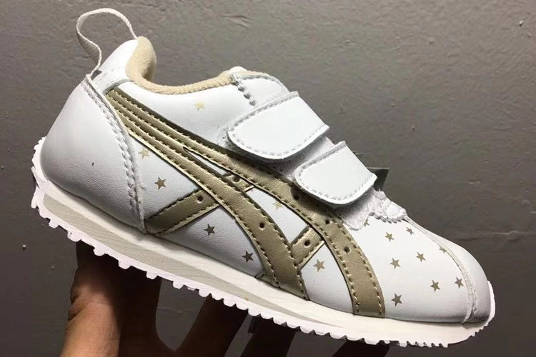 (White/ gold) California 78 TS Kid's Shoes