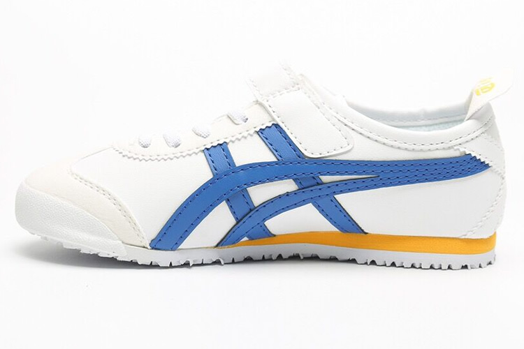 (White/ Blue/ Yellow) Mexico 66 PS Big Kid Shoes