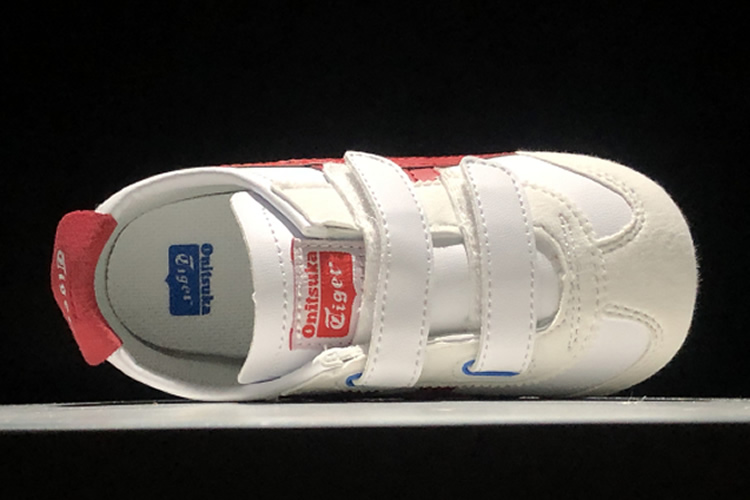 (White/ Red/ Blue) Mexico 66 BAJA TS Little Kid's Shoes