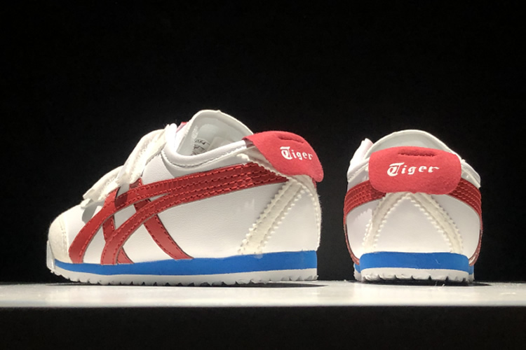 (White/ Red/ Blue) Mexico 66 BAJA TS Little Kid's Shoes - Click Image to Close