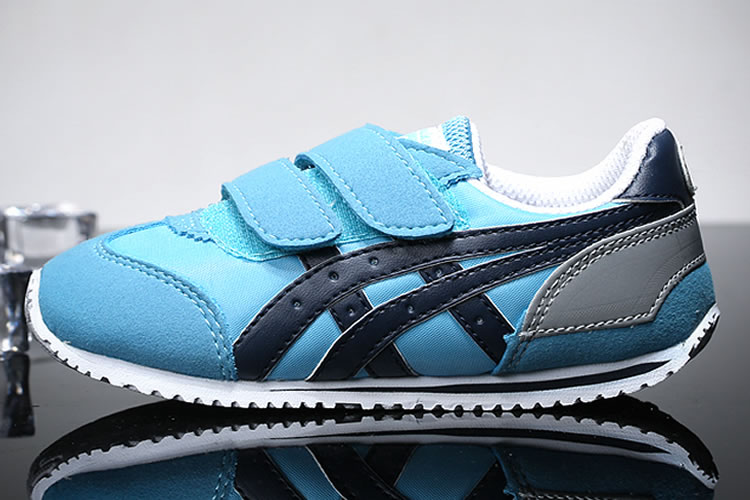 (Blue/ Navy) Onitsuka Tiger California 78 TS Little Kid's Shoes
