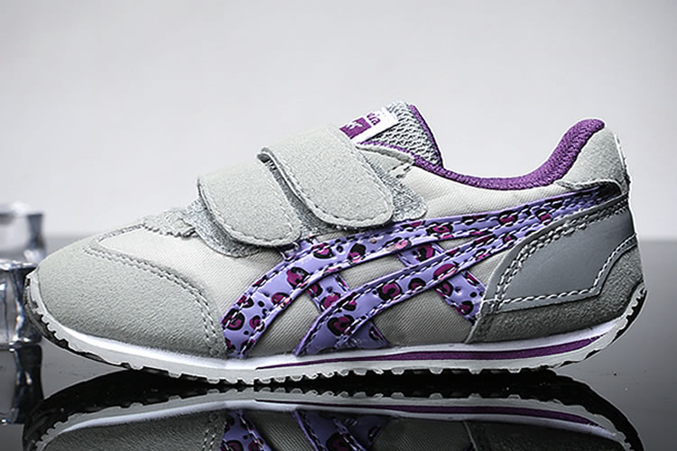 (Grey/ Purple) California 78 TS Little Kid's Shoes