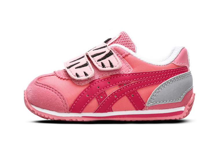 (Pink/ Red) Onitsuka Tiger California 78 TS Little Kid's Shoes