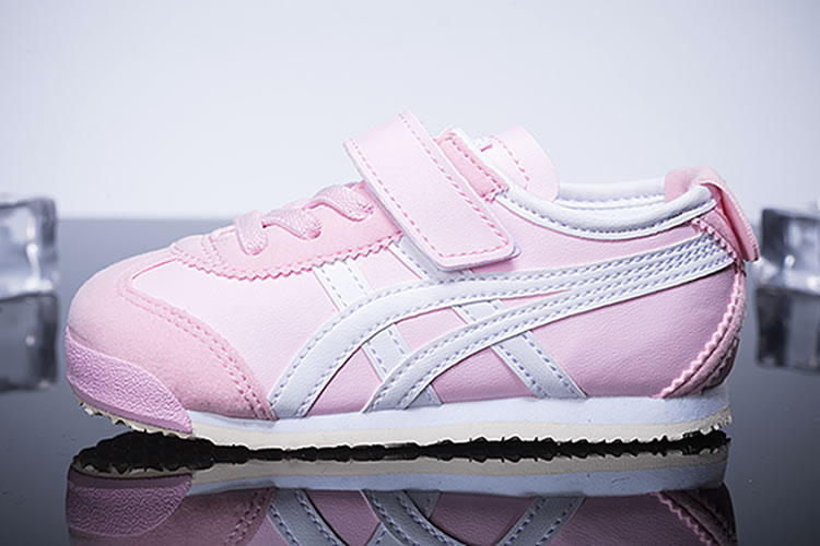 (Pink/ White) Onitsuka Tiger Mexico 66 PS Kid's Shoes