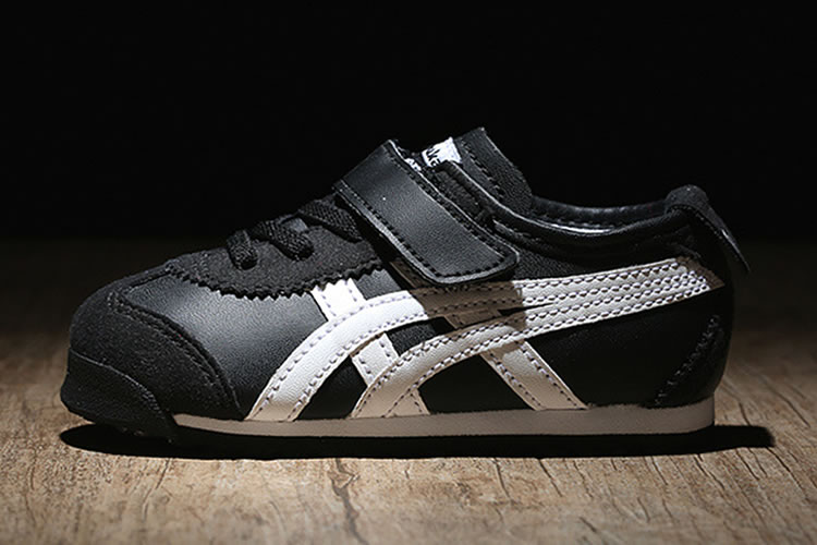 meet 5e23f ee0f8 Black/ White) Onitsuka Tiger Mexico 66 BAJA TS Little Kid's ...