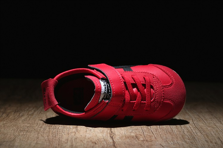 (Red/ Black) Onitsuka Tiger Mexico 66 BAJA TS Little Kid Shoes