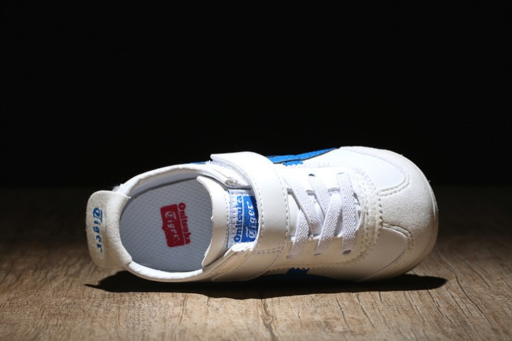 (Blue/ White/ Red) Onitsuka Tiger Mexico 66 BAJA TS Little Kid Shoes