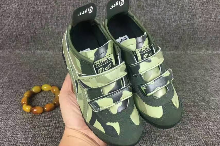 (Army Green) Mexico 66 BAJA PS Big Kid's Shoes