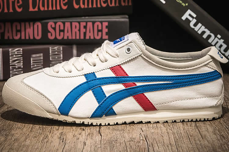 (White/ Blue/ Red) Mexico 66 KONBUA Shoes