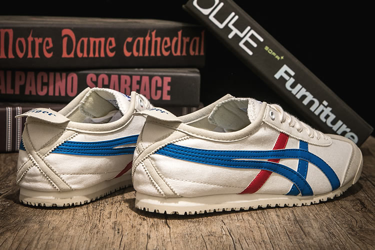(White/ Blue/ Red) Mexico 66 KONBUA Shoes - Click Image to Close
