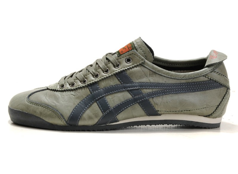 (Army/ Green) Men's Onitsuka Tiger LAUTA Mexico 66 New Shoes