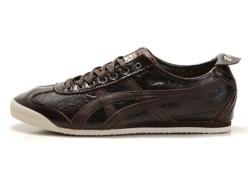 Men's Onitsuka Tiger LAUTA NEW Mexico 66 Brown Shoes