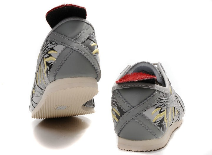 Onitsuka Tiger (Grey/ Red) Mexico 66 LAUTA Shoes
