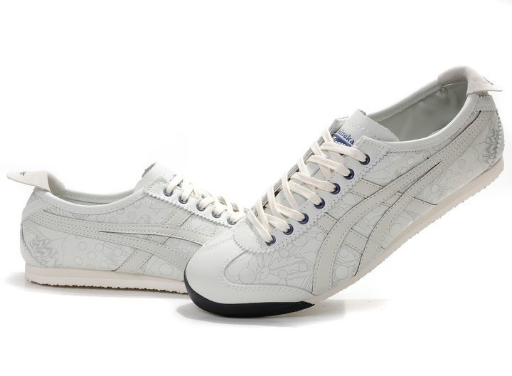 Onitsuka Tiger (White/ Black/ Beige) Mexico 66 LAUTA Shoes