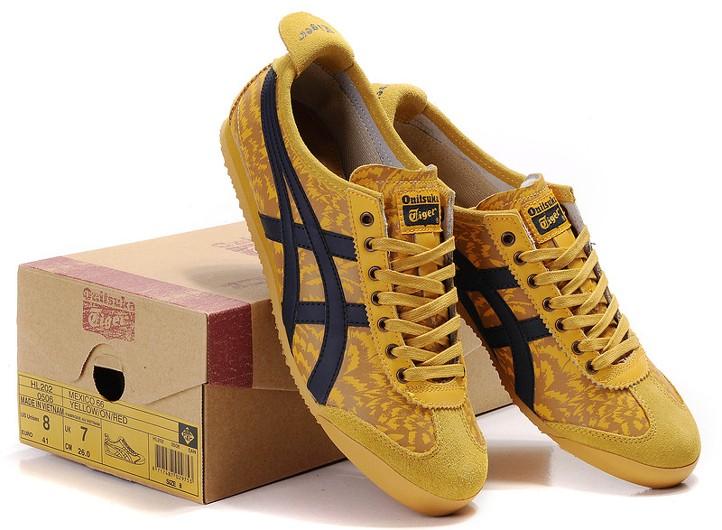 asics aaron yellow
