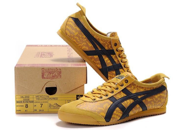 onitsuka tiger mexico 66 black and yellow 97 cm