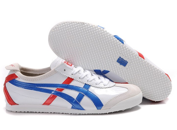 Onitsuka Tiger (White/ Blue/ Red) Mens LAUTA Shoes