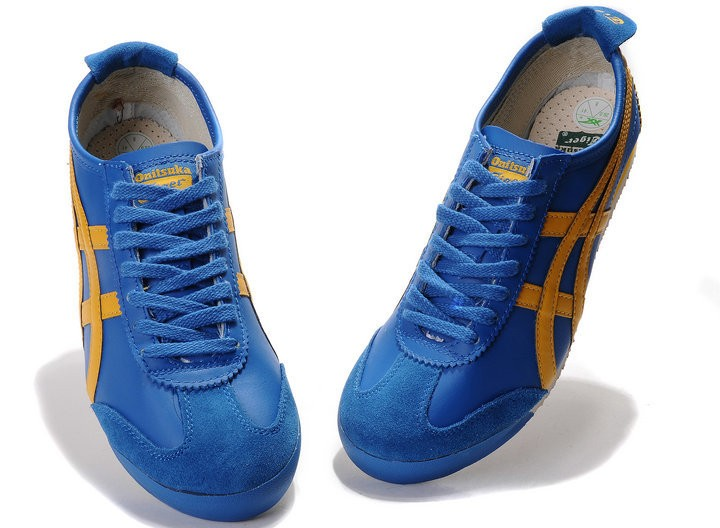 online store 256da 67731 Men's Blue Yellow Onitsuka Tiger Mexico 66 Shoes [HL202-6982 ...