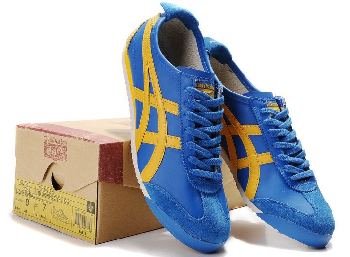onitsuka tiger mexico 66 shoes blue