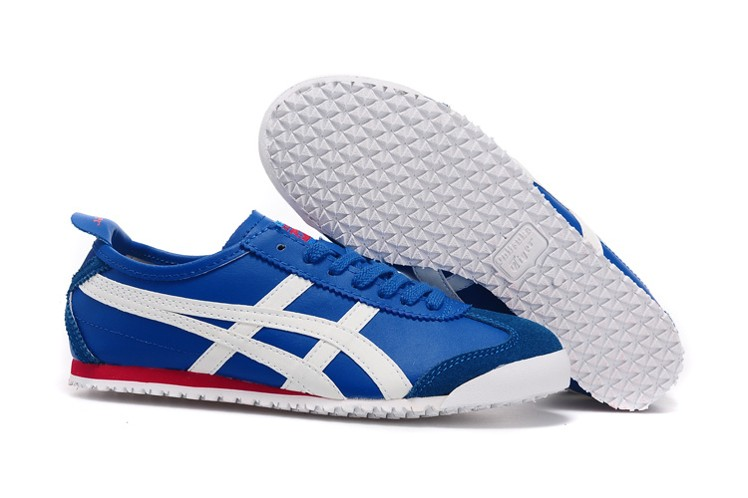 Men's Onitsuka Tiger Mexico 66 (Blue/ White/ Red) Shoes