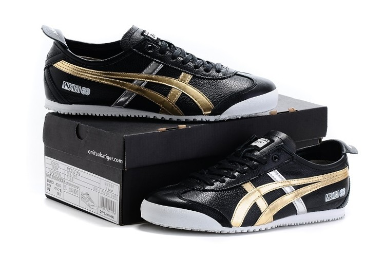asics onitsuka tiger mexico 66 black gold