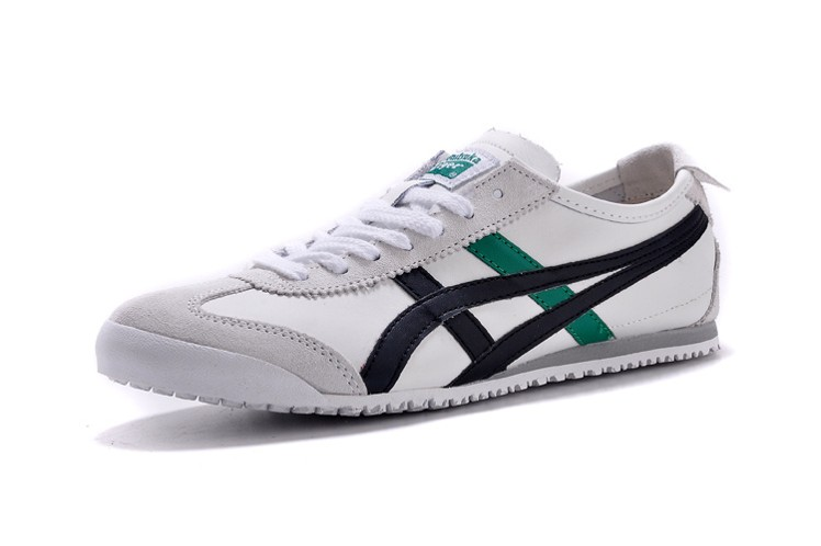 (White/ Black/ Green) Onitsuka Tiger Mexico 66 Shoes