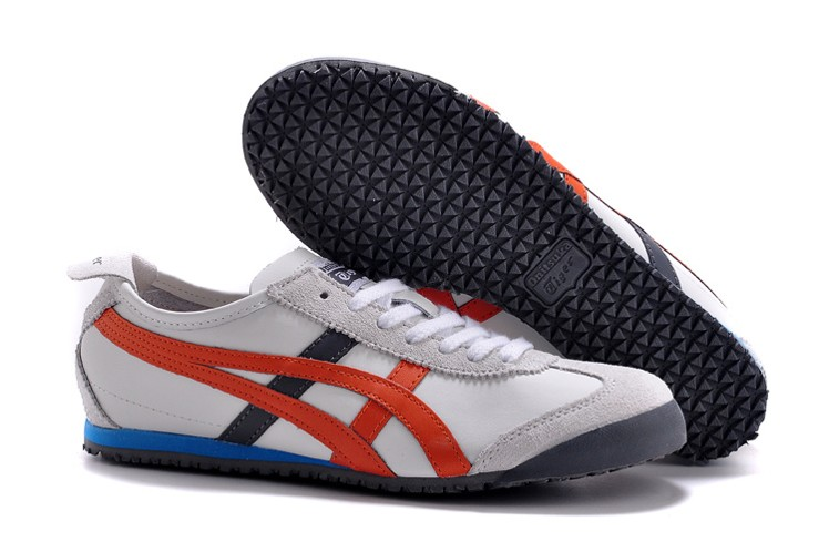 Onitsuka Tiger mexico 66 (White/ Orange/ Grey) Shoes