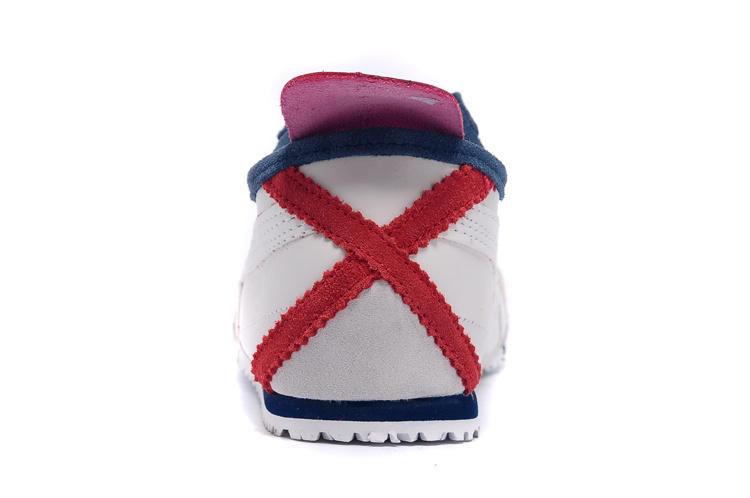 Onitsuka Tiger Mexico 66 Shoes (White/ Purple/ Red)