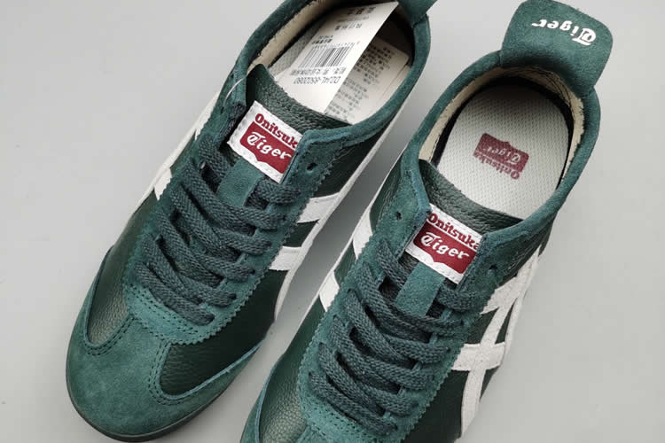 (Bottle Green/ Milky) Mexico 66 shoes