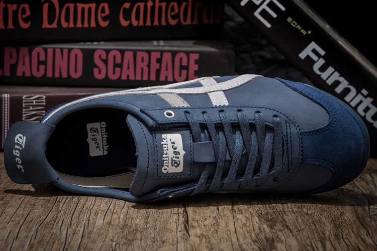 (Dusty Blue/ White) Onitsuka Tiger Mexico 66 Shoes