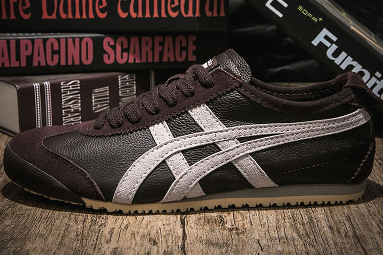 (Brown/ White) Onitsuka Tiger Mexico 66 Shoes