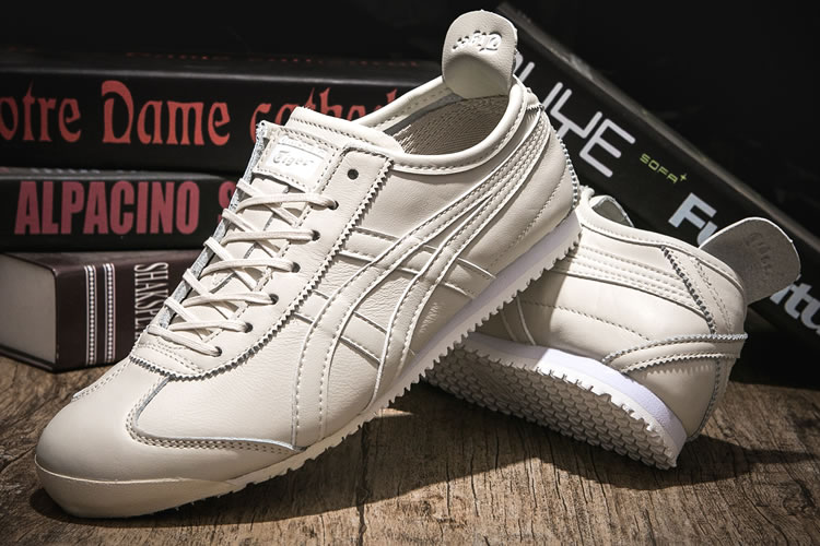 (Cream/ Cream) Onitsuka Tiger Mexico 66 New Shoes