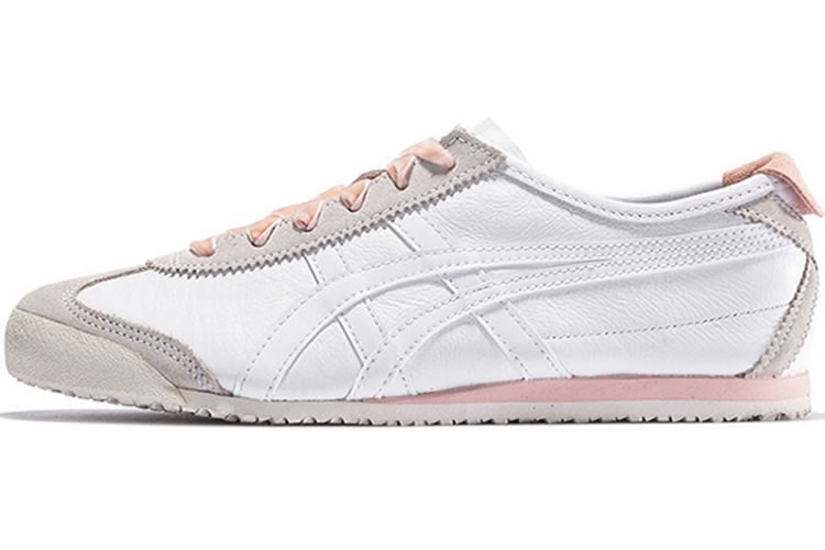 Onitsuka Tiger (White/ Pink) MEXICO 66 Shoes