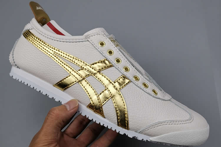 (White/ Gold) Mexico 66 New Shoes