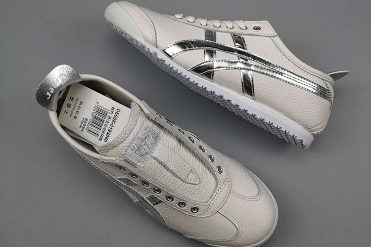 (White/ Silver) Mexico 66 New Shoes